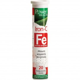 POWER HEALTH IRON+C 20 TABS