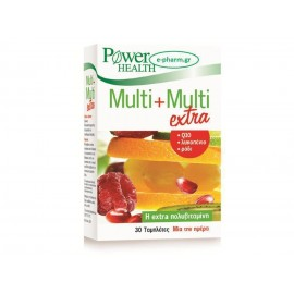 POWER HEALTH MULTI+MULTI EXTRA 30TABS