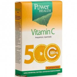 POWER HEALTH VITAMIN C 500MG CHEWABLE 36TABS